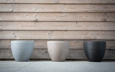 Green Care: a range of ecological pots