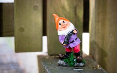 The garden gnomes are back